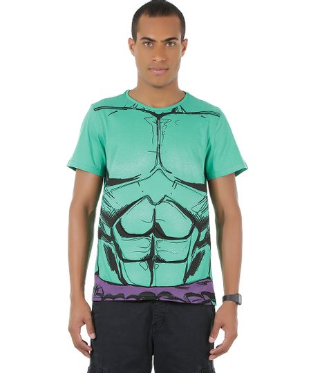 Camiseta Hulk com Tanquinho Verde