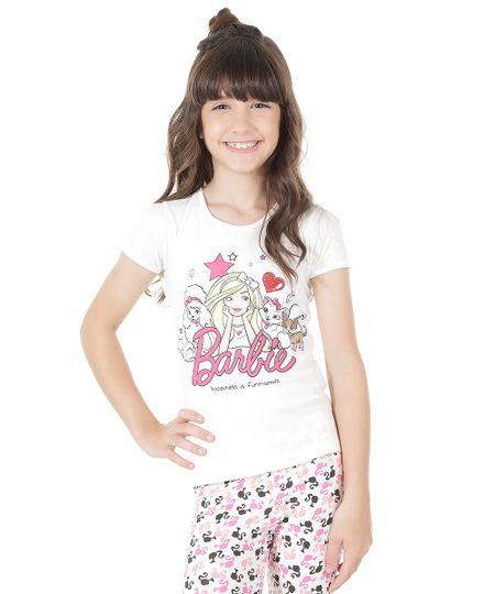 Blusa Barbie Off White