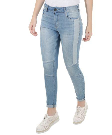 Calça Jeans Super Skinny Azul Claro