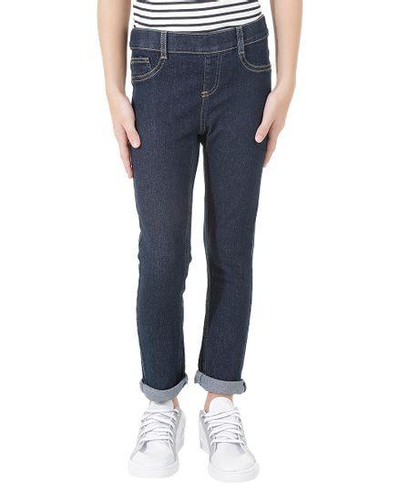 Calça Jeans Jegging Azul Escuro