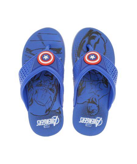 Chinelo Grendene Capitão América Azul
