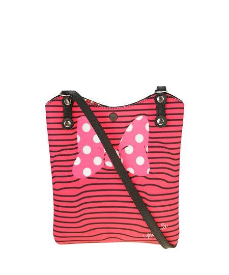 Bolsa Estampada Minnie Pink