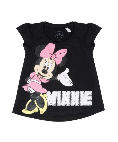 Blusa Minnie Preta