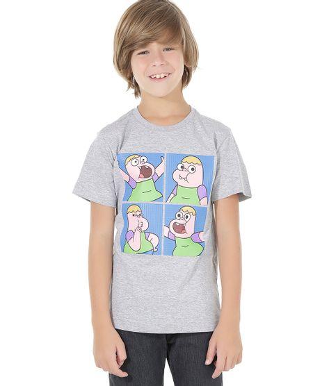 Camiseta-Clarencio-o-Otimista-Cinza-Mescla-8559171-Cinza_Mescla_1