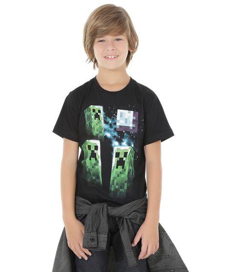 Camiseta-Minecraft-Preta-8533369-Preto_1