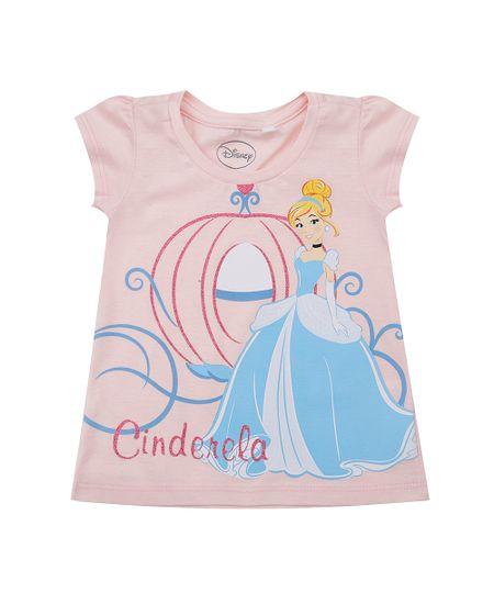 Blusa Cinderela Rosa