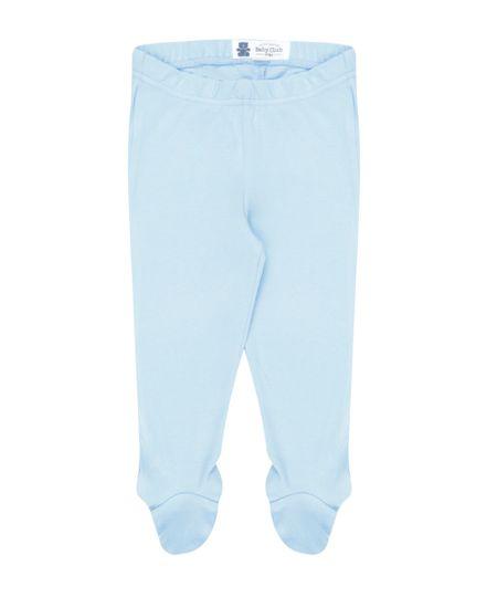Calça em Algodão + Sustentável  Azul Claro
