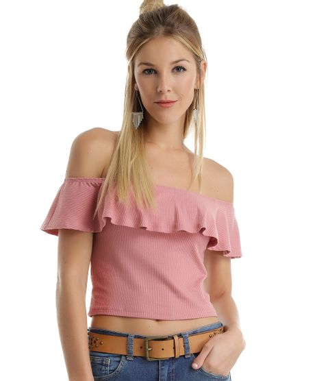 Blusa-Cropped-Ombro-a-Ombro-Canelada-Rosa-8552020-Rosa_1