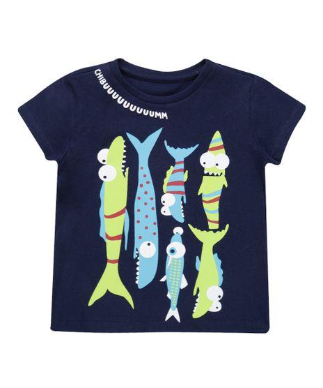 Camiseta--Peixes--Azul-Marinho-8543397-Azul_Marinho_1
