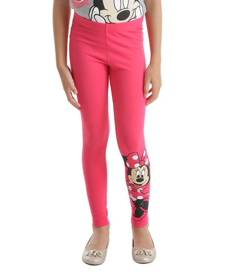 Calça Legging Minnie Pink