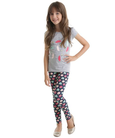 Conjunto-de-Blusa-Cinza-Mescla---Calca-Legging-Estampada-Azul-Marinho-8555145-Azul_Marinho_1