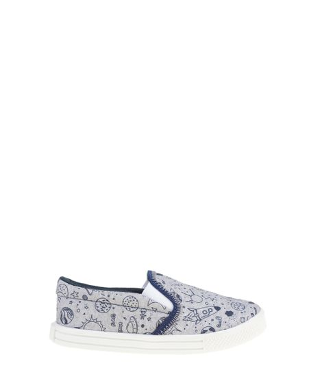 Tenis-Slip-On-Estampado-do-Espaco-Cinza-Mescla-8568706-Cinza_Mescla_1
