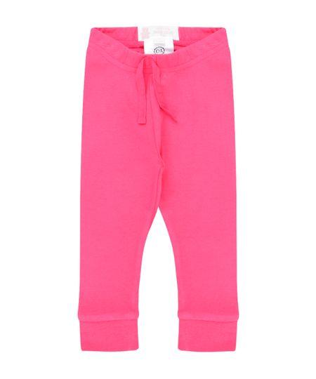 Calça Básica em Algodão + Sustentável Pink