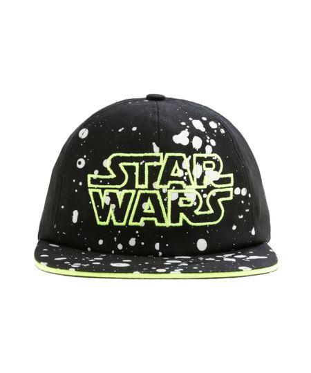 Boné Star Wars Preto