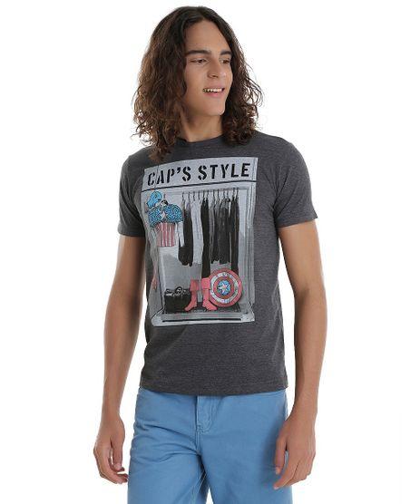 Camiseta-Capitao-America-Cinza-Mescla-Escuro-8555625-Cinza_Mescla_Escuro_1