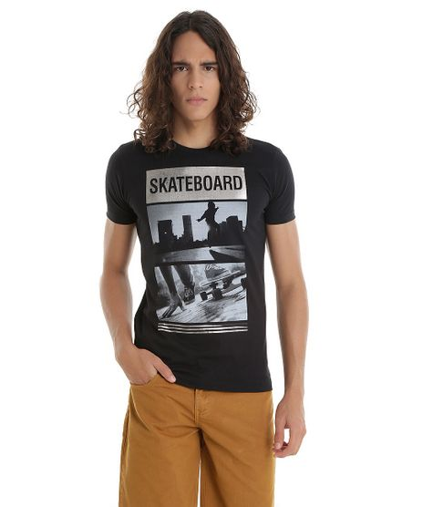 Camiseta--Skateboard--Preta-8541832-Preto_1