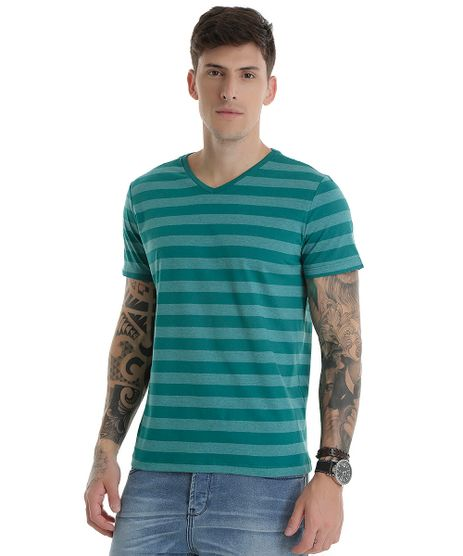 Camiseta-Listrada-Verde-8547119-Verde_1