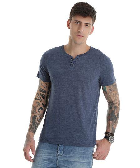 Camiseta Básica Azul Marinho