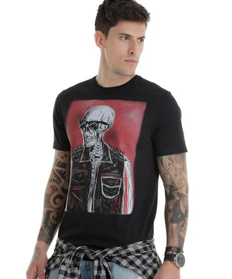 Camiseta--Esqueleto-Punk--Preta-8527824-Preto_1