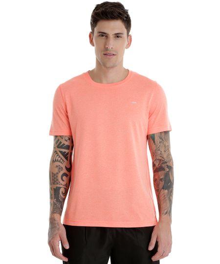 Camiseta Ace Basic Dry Laranja Flúor