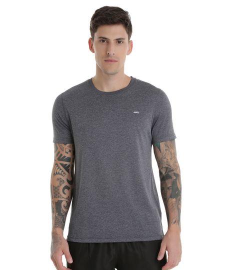 Camiseta Ace Basic Dry Cinza Escuro