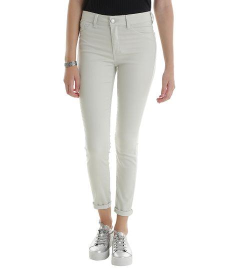 Calça Super Skinny Energy Jeans Bege