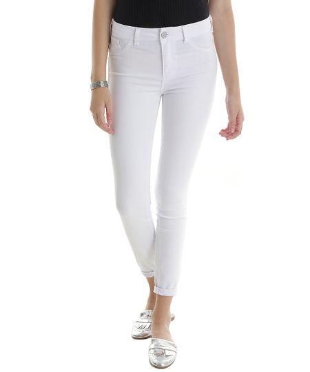 Calça Super Skinny Energy Jeans Branca