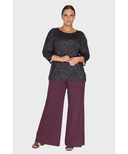 Calça Pantalona Plus Size