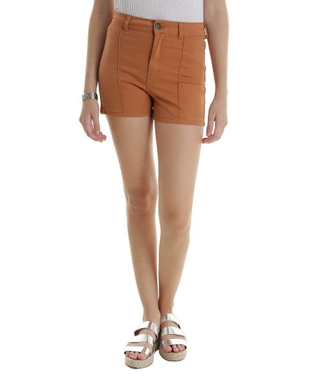Short Hot Pant Caramelo