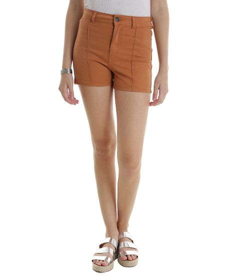 Short-Hot-Pant-Caramelo-8496468-Caramelo_1