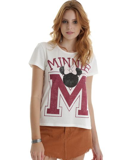 Blusa Minnie Off White