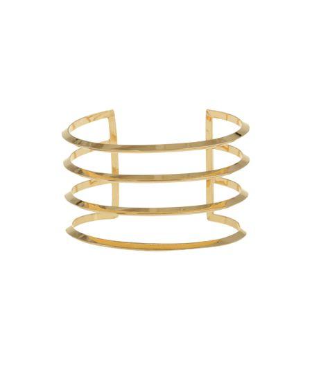 Bracelete Vazado Dourado