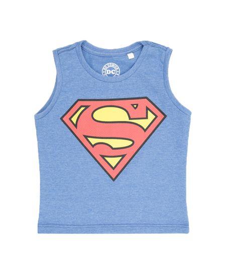 Regata Super Homem Azul