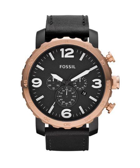 Relógio Fossil Masculino Preto - FJR1369/Z
