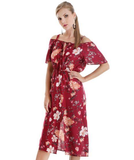 Vestido-Midi-Estampado-Floral-Vinho-8596738-Vinho_1