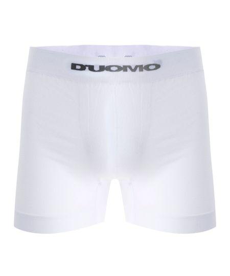Cueca Boxer Sem Costura Duomo Branca