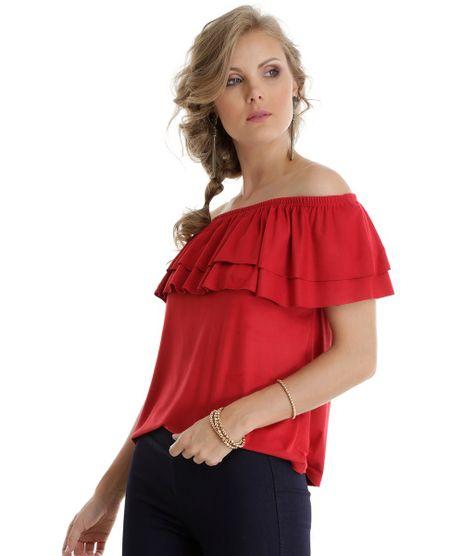 Blusa-Ombro-a-Ombro-em-Suede-Vermelha-8537152-Vermelho_1