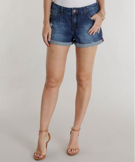 Short-Jeans-Relaxed-Azul-Escuro-8493449-Azul_Escuro_1