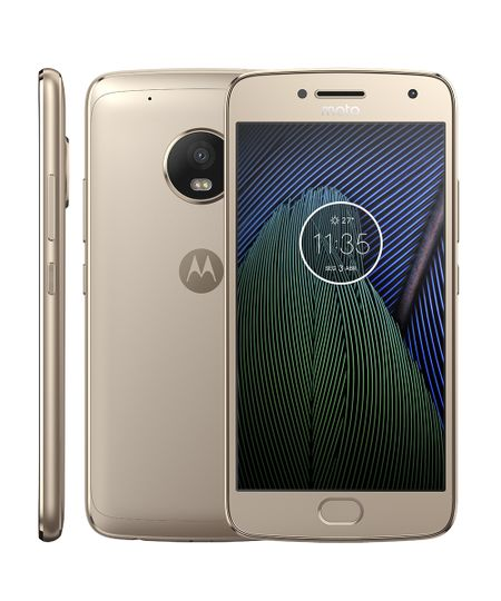 Smartphone Motorola Moto G5 Plus DTV Dourado