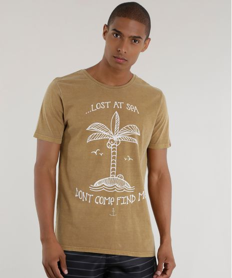 Camiseta--Lost-at-Sea--Kaki-8575061-Kaki_1