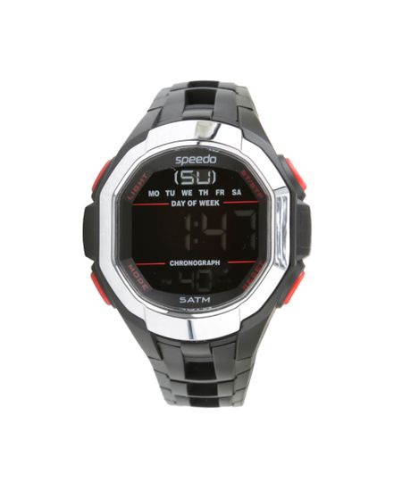 Relógio Speedo Digital Masculino -  81106G0EVNP1 Preto