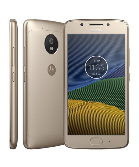 Smartphone Motorola Moto G5 Dourado
