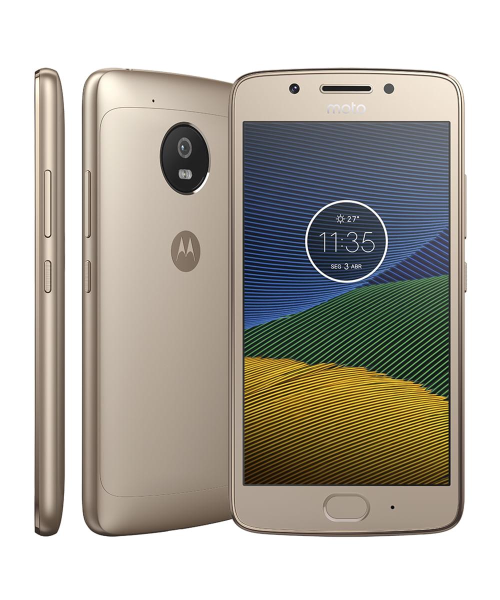 Smartphone Motorola Moto G5 Dourado - Único Dourado