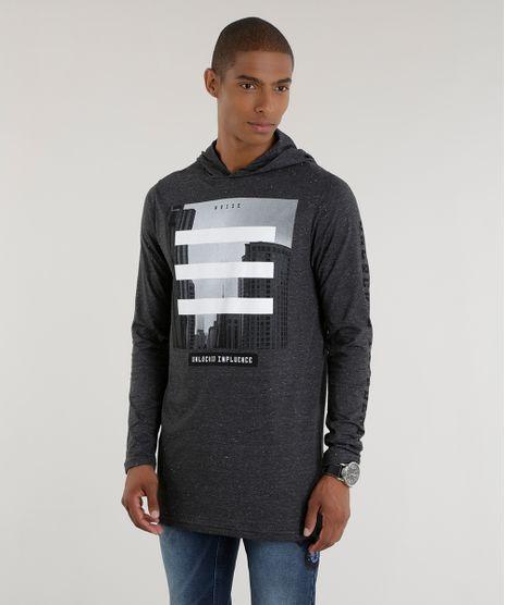 Camiseta-Longa--Unlocked-Influence--Cinza-Mescla-Escuro-8537787-Cinza_Mescla_Escuro_1
