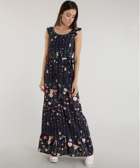 Vestido-Longo-Estampado-Floral-Azul-Marinho-8571578-Azul_Marinho_1