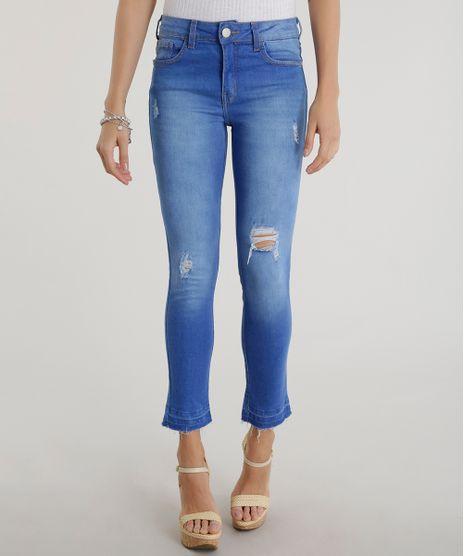 Calca-Jeans-Cigarrete-Azul-Medio-8493509-Azul_Medio_1