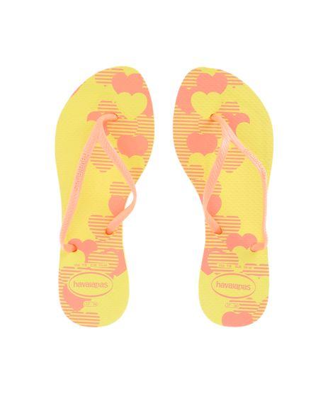 Chinelo-Havaianas-Estampado-de-Coracoes-Amarelo-8509489-Amarelo_1