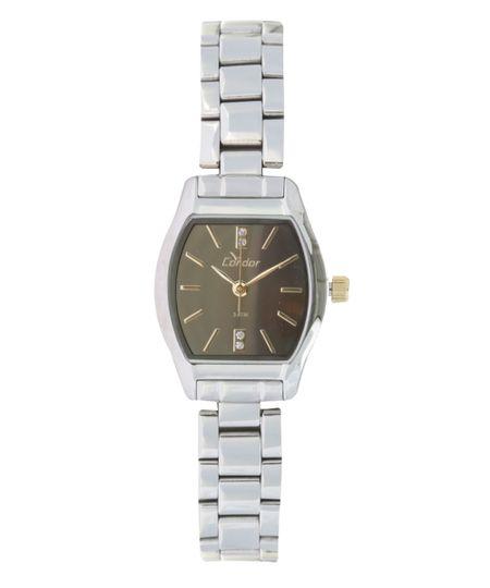 Relógio Condor Analógico Feminino - CO2035KLL3K Prateado