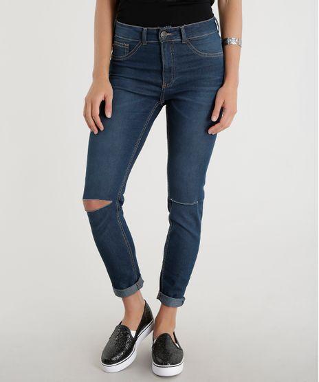 Calca-Jeans-Cigarrete-Azul-Escuro-8543021-Azul_Escuro_1