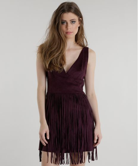 Vestido-em-Suede-com-Franjas-Pat-Pat-s-Roxo-8457884-Roxo_1